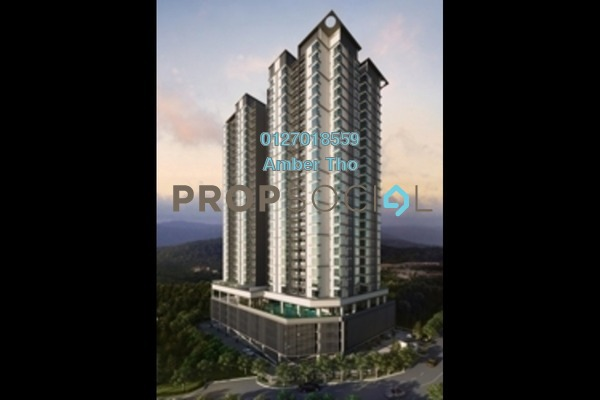 For Rent Condominium at 288 Residency, Setapak Freehold Semi Furnished 4R/3B 2.21k