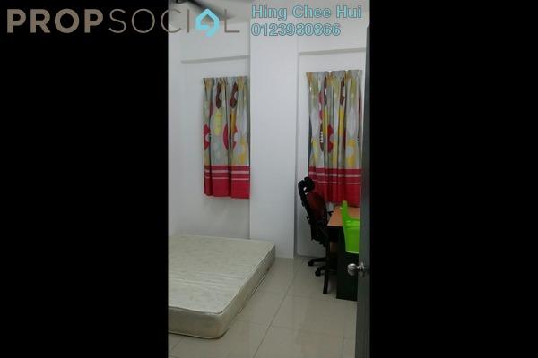 For Rent Condominium at Mahkota Garden Condominium, Bandar Mahkota Cheras Freehold Fully Furnished 4R/3B 1.4k