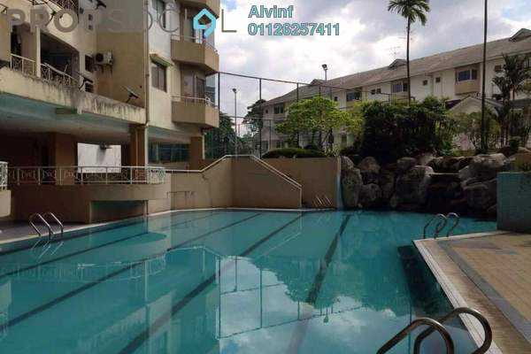 For Sale Condominium at Sri Lata, Desa Petaling Freehold Semi Furnished 3R/2B 420k