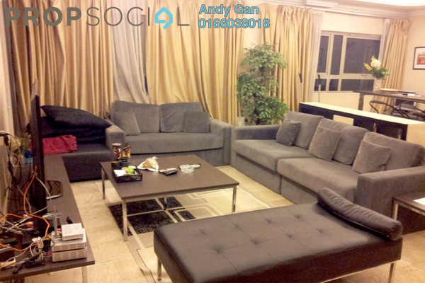For Rent Condominium at Crown Regency, KLCC Freehold Fully Furnished 3R/4B 5k