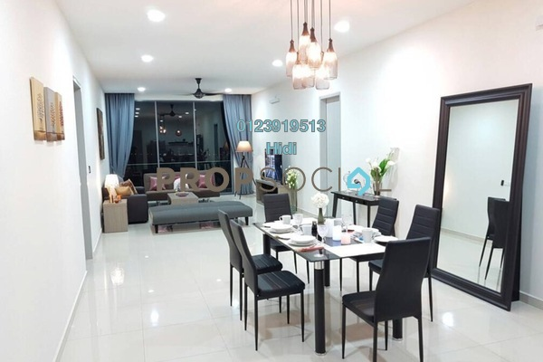 For Rent Condominium at X2 Residency, Puchong Freehold Fully Furnished 4R/5B 2.9k