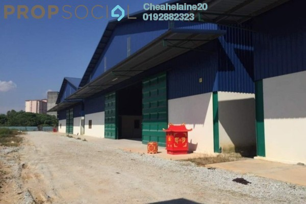 For Rent Factory at Pekan Sungai Buloh, Selangor Freehold Unfurnished 0R/2B 9k