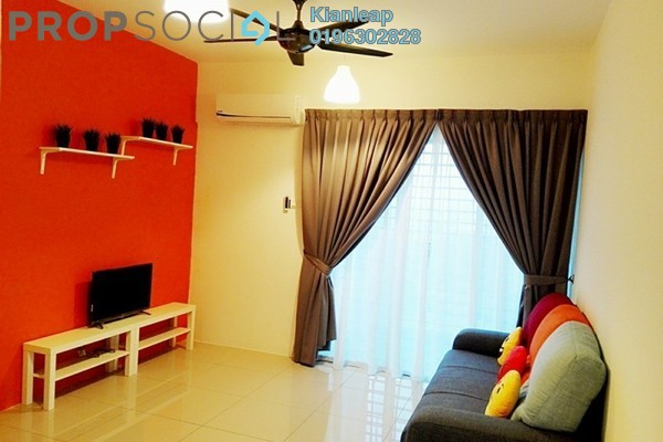 For Sale Apartment at Pearl Avenue, Kajang Freehold Fully Furnished 3R/2B 380k