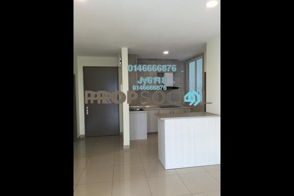 For Rent Condominium at ZetaPark, Setapak Freehold Semi Furnished 3R/3B 2.3k