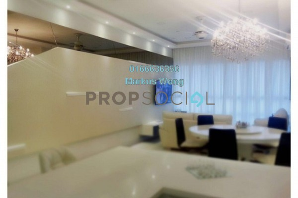 For Sale Condominium at KM1, Bukit Jalil Freehold Fully Furnished 3R/3B 1.3m