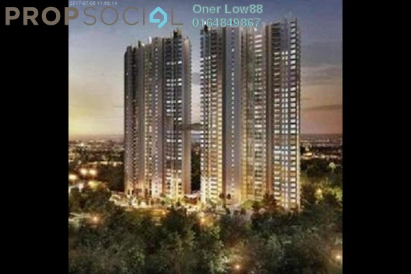 For Rent Condominium at Orchard Ville, Sungai Ara Freehold Semi Furnished 3R/2B 1.1k