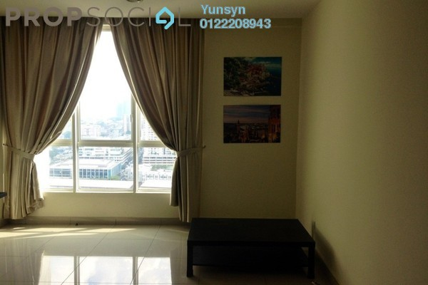 For Rent Serviced Residence at The Loft @ ZetaPark, Setapak Freehold Semi Furnished 3R/2B 2.3k