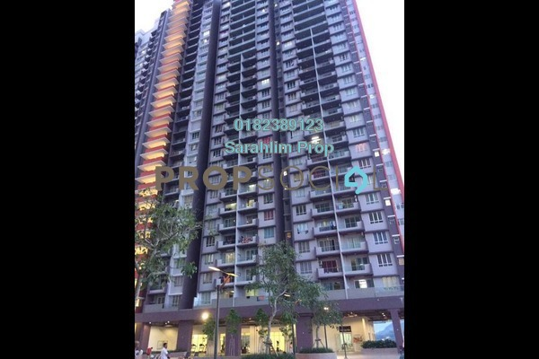 For Rent Condominium at Platinum Lake PV21, Setapak Freehold Semi Furnished 3R/2B 1.6k