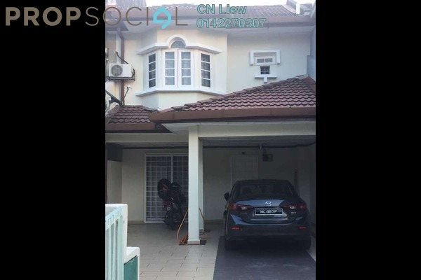 For Sale Terrace at Saujana Impian, Kajang Freehold Fully Furnished 3R/2B 505k