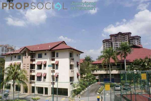 For Rent Condominium at Kiara Park, TTDI Freehold Fully Furnished 3R/2B 2.3k