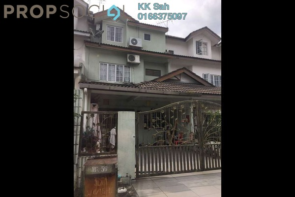 For Sale Link at Taman Cheras Jaya, Balakong Freehold Semi Furnished 4R/3B 550k