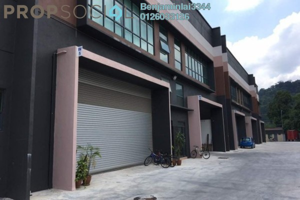 For Rent Factory at Kuang, Selangor Freehold Unfurnished 0R/0B 7k