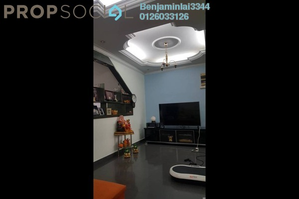 For Sale Terrace at Taman Bukit Maluri, Kepong Freehold Semi Furnished 4R/3B 998k
