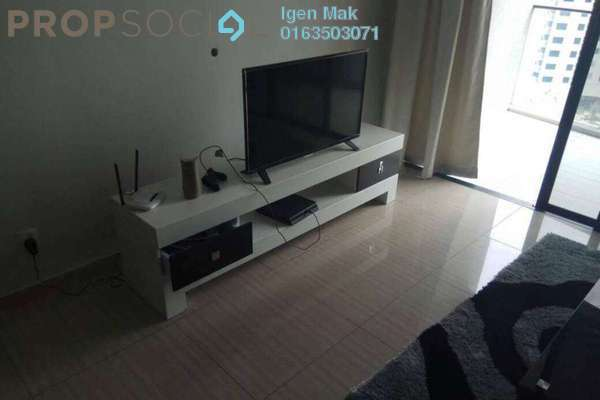 For Sale Condominium at Twin Arkz, Bukit Jalil Freehold Fully Furnished 2R/2B 888k