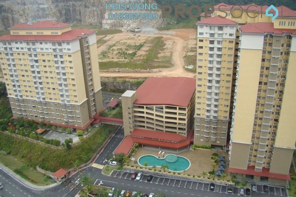 For Rent Condominium at Puncak Banyan, Cheras Freehold Semi Furnished 3R/2B 1.1k