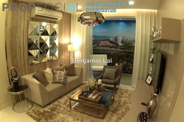 For Sale Serviced Residence at Hampton Damansara, Kuala Lumpur Freehold Semi Furnished 2R/2B 730k