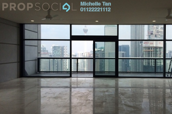 For Sale Duplex at The Troika, KLCC Freehold Semi Furnished 5R/6B 12.2m