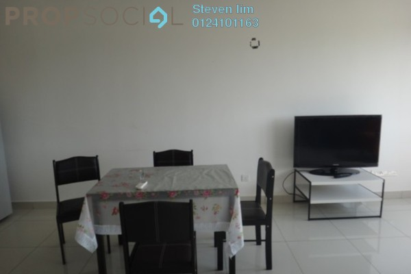 For Rent Condominium at Mirage By The Lake, Cyberjaya Freehold Semi Furnished 2R/2B 1.7k