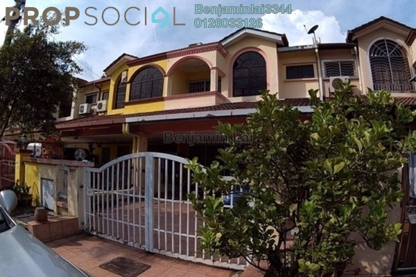 For Sale Terrace at Taman Banang Ria, Batu Pahat Freehold Semi Furnished 3R/3B 780k