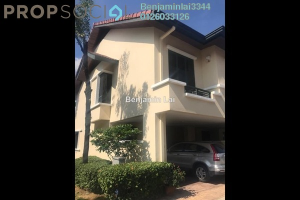 For Rent Terrace at Nadia, Desa ParkCity Freehold Semi Furnished 4R/3B 3.5k