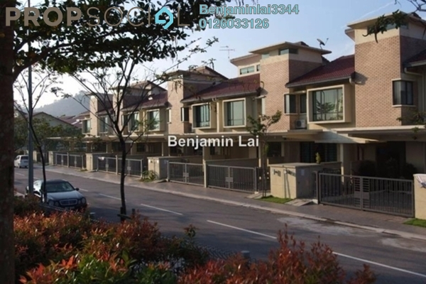 For Rent Terrace at SouthLake, Desa ParkCity Freehold Semi Furnished 4R/3B 3.2k