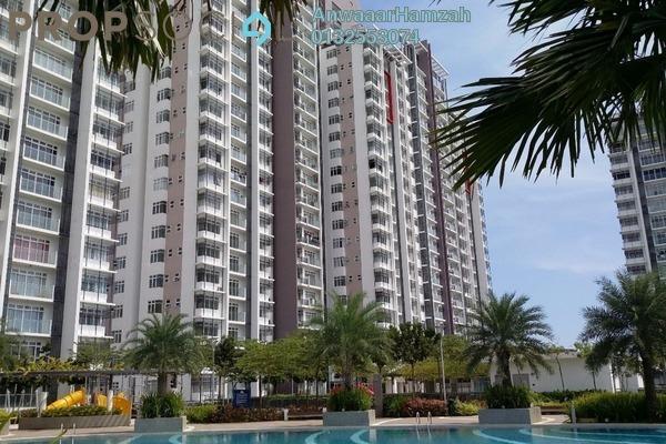 For Rent Condominium at Dwiputra Residences, Putrajaya Freehold Semi Furnished 3R/3B 2.2k