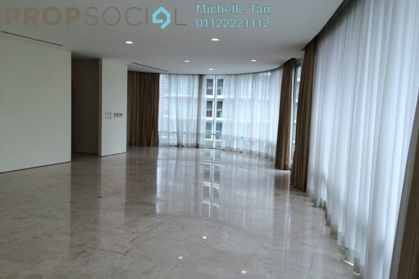 For Rent Condominium at The Oval, KLCC Freehold Semi Furnished 3R/4B 12k