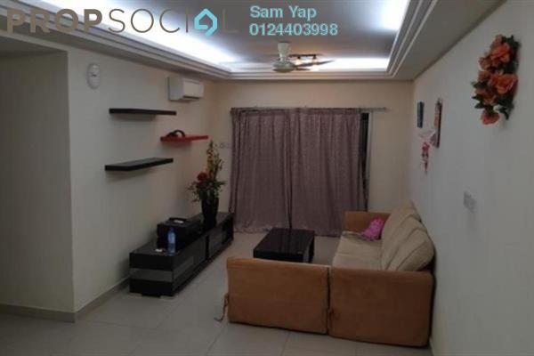 For Rent Condominium at Kinrara Mas, Bukit Jalil Freehold Fully Furnished 3R/2B 1.35k