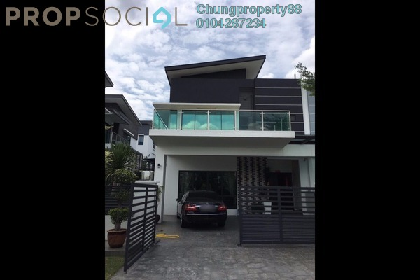 For Sale Semi-Detached at Taman Sinar Mahkota, Bandar Mahkota Cheras Freehold Fully Furnished 4R/4B 1.7m