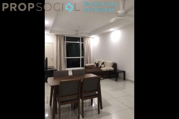 For Rent Serviced Residence at Central Residence, Sungai Besi Freehold Fully Furnished 2R/2B 2k