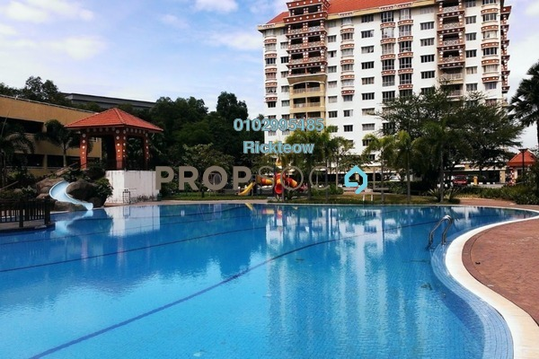 For Sale Condominium at Koi Tropika, Puchong Freehold Fully Furnished 2R/1B 380k