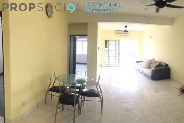 For Rent Apartment at Kemuncak Shah Alam, Shah Alam Freehold Semi Furnished 2R/2B 1.5k