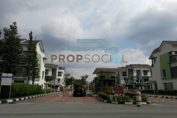 For Rent Townhouse at Park Villa, Bandar Bukit Puchong Freehold Unfurnished 3R/2B 1.1k