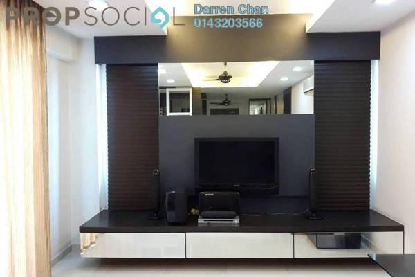For Rent Condominium at Vista Tasik, Bandar Sri Permaisuri Freehold Fully Furnished 2R/2B 1.8k