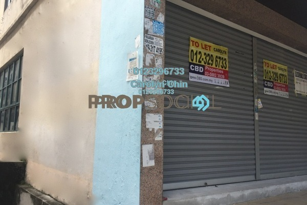 For Rent Shop at USJ 9, UEP Subang Jaya Freehold Unfurnished 0R/2B 5.5k
