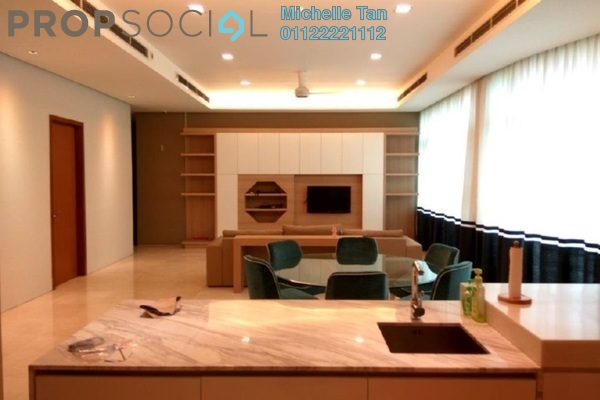 For Rent Condominium at Quadro Residences, KLCC Freehold Fully Furnished 4R/5B 14k