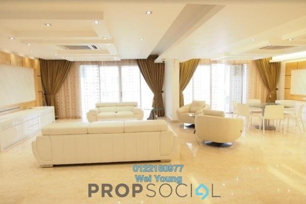 For Sale Condominium at Kiaramas Cendana, Mont Kiara Freehold Semi Furnished 5R/5B 2.57m