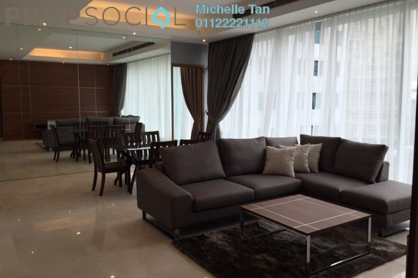 For Rent Condominium at Vipod Suites, KLCC Freehold Fully Furnished 2R/2B 8.5k