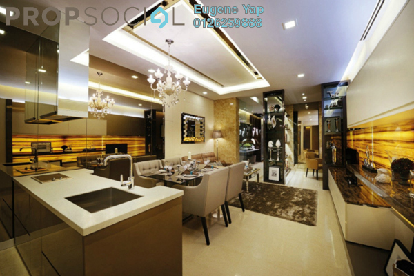 For Sale Condominium at Dorsett Residences, Bukit Bintang Freehold Fully Furnished 2R/2B 1.82m