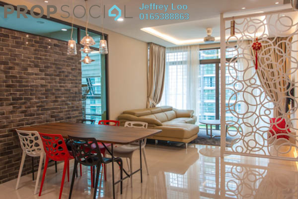 For Rent Condominium at The Z Residence, Bukit Jalil Freehold Fully Furnished 3R/2B 1.7k
