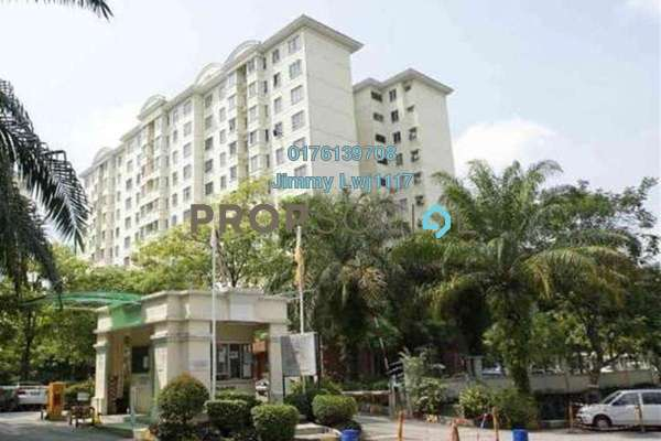 For Rent Condominium at D'Kiara Apartment, Pusat Bandar Puchong Freehold Semi Furnished 3R/2B 1.2k