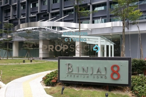For Rent Condominium at Binjai 8, KLCC Freehold Fully Furnished 2R/2B 3.2k
