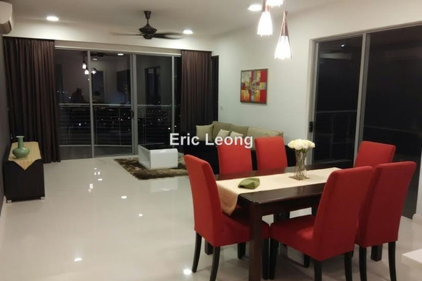 For Rent Condominium at VERVE Suites, Mont Kiara Freehold Fully Furnished 2R/1B 3.8k