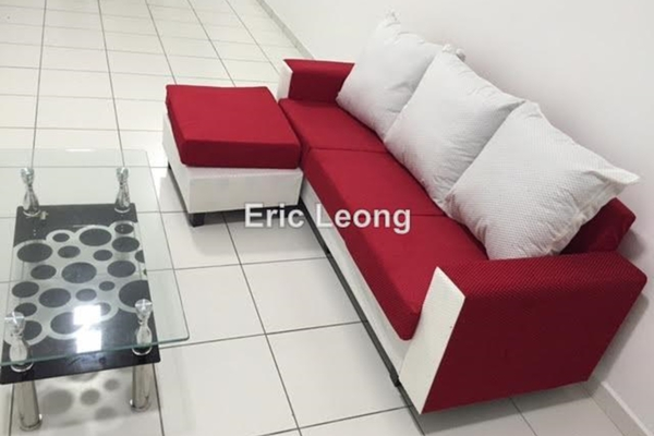 For Rent Serviced Residence at Axis SoHu, Pandan Indah Leasehold Semi Furnished 2R/2B 2.1k
