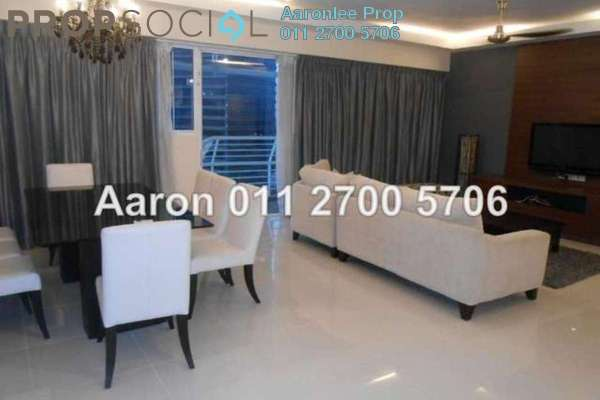 For Rent Condominium at The Plaza Condominium, TTDI Freehold Fully Furnished 3R/4B 3.9千