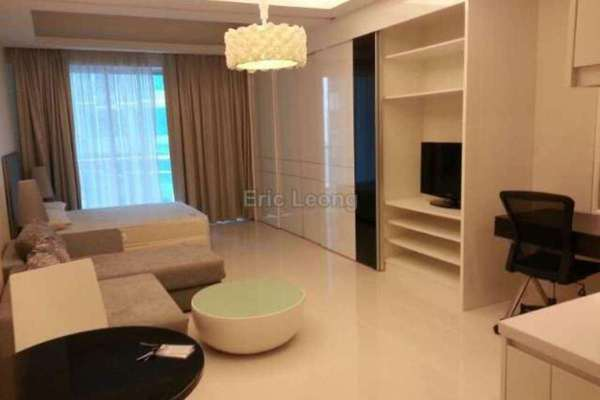 For Rent Serviced Residence at Carlton, Sri Hartamas Freehold Fully Furnished 0R/1B 2k