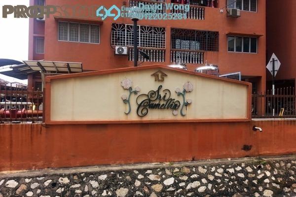 For Rent Apartment at Sri Camellia Apartment, Kajang Freehold Unfurnished 3R/2B 1k