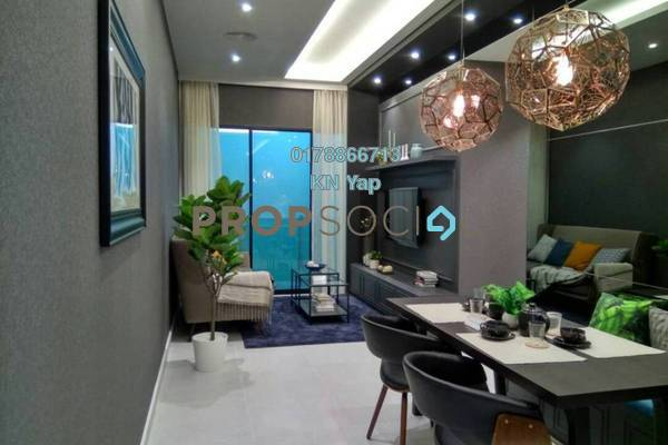 For Sale Serviced Residence at Taman Connaught, Cheras Freehold Semi Furnished 3R/2B 414k