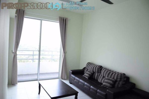 For Sale Condominium at Pinang Laguna, Seberang Jaya Freehold Semi Furnished 4R/2B 325k