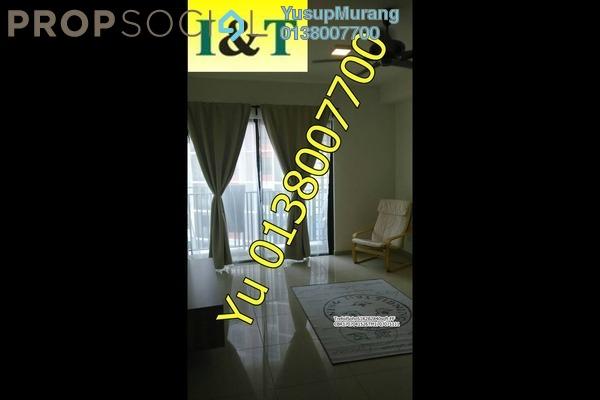 For Rent SoHo/Studio at Trefoil, Setia Alam Freehold Semi Furnished 2R/2B 1.8k